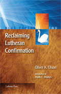 confirmation essay lutheran The guidelines for the confirmation essay topic the topic will be one of the six chief parts of the small catechism if you wish to write on another topic.